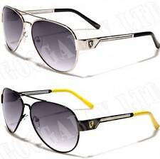 New Black Aviator Vintage Retro Mens Ladies Unisex Designer Sunglasses UV400 K30