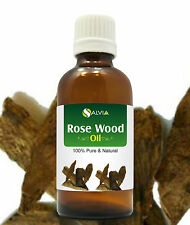 ROSE WOOD OIL 100% NATURAL PURE UNDILUTED UNCUT ESSENTIAL OIL 5ML TO 100ML