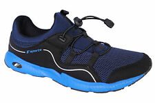 F-SPORTS BRAND NEW MENS FREEMEN NAVY BLUE CASUAL JOGGING SPORTS SLIPONS SHOES