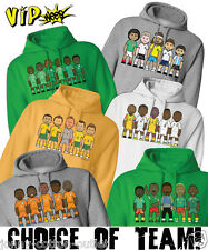 VIPwees Unisex Hoodie Rest Of The World Football Legends World Cup Choose Team