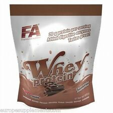 Fitness Authority Whey Protein 908g(2lbs) Aminogen Digestive Enzyme