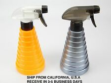 NEW SALON HAIRDRESSING PLASTIC WATER SPRAY BOTTLE YELLOW OR GREY