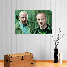BREAKING BAD WALTER WHITE AND JESSE PINKMAN  WALL ART POSTER