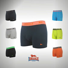 2 Pack Junior Boys Lonsdale Trunks Boxer Underwear Size Age 7 8  9 10 11 12 13