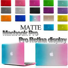 Macbook Pro /Macbook Pro Retina Display Matte Frosted Rubberized Hard Case Cover