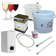Wine Making Kit 6 Bottles 4.5L of Red White & Rose Wines Gift Set Just add water