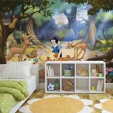 WALL MURAL PHOTO WALLPAPER PICTURE (534VE) Disney Snow White Girls Bedrooms