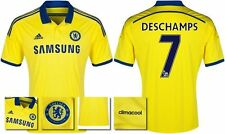 *14 / 15 - ADIDAS ; CHELSEA AWAY SHIRT SS / DESCHAMPS 7 = SIZE*