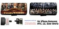 GoT Game of Thrones Leather card wallet phone case S3 S4 S5,Mini, A3 A5 S6, Note