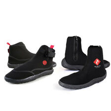 BOOGIE BOOTS + ZIP Wetsuit Neoprene diving zipped surf adult kids Two Bare Feet