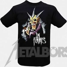 """In Flames  """" Time Keeper """" T-Shirt 105367 #"""