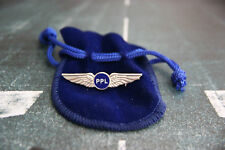 ORIGINAL PILOT WINGS GOLD/SILVER 35/50MM + PPL (PRIVATE PILOT LICENCE) WINGS !!