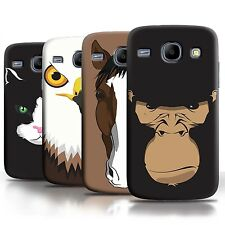 STUFF4 Phone Case/Back Cover for Samsung Galaxy Core /Animal Faces