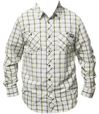 Zoo York Davis Black Men's Shirt Men Checked Plaid M - Xl Checkered New
