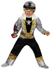 Toddler Show Power Rangers Super Megaforce Special Ranger Silver Muscle Costume
