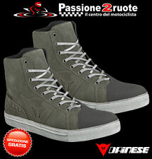 Scarpe Dainese Street Biker wp Tarmac moto shoes waterproof
