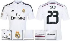 *14 / 15 - ADIDAS ; REAL MADRID HOME SHIRT SS / ISCO 23 = SIZE*