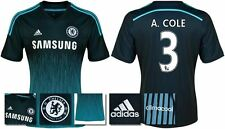 *14 / 15 - ADIDAS ; CHELSEA 3rd KIT SHIRT SS / A. COLE 3 = SIZE*