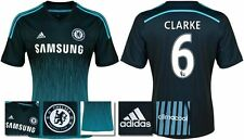 *14 / 15 - ADIDAS ; CHELSEA 3rd KIT SHIRT SS / CLARKE 6 = SIZE*