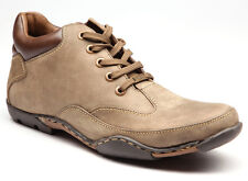 EGOSS BRAND ORIGINAL MENS OLIVE CASUAL LACED BOOTS SHOES SALE B-7827