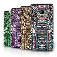 STUFF4 Phone Case/Back Cover for HTC One/1 M7 /Aztec Animal Design