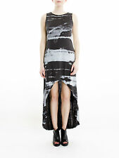 BNWT Religion Dynamic Maxi Dress in Black Ink
