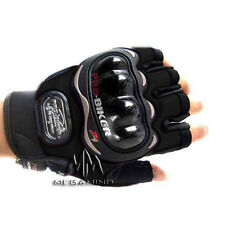 Pro-Biker Half Riding Gloves - 1 Pair for Bike / Motorcycle / Scooter Riding