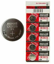 Maxell 5 NX Genuine 3V Lithium Button / Coin Cells Batteries Free UK Post 1 Card
