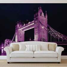 VLIES FOTOTAPETE FOTOTAPETEN WANDBILD BILD TAPETE 237VE London Tower Bridge