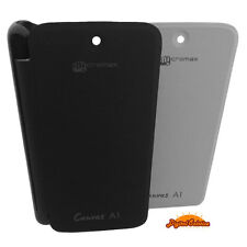 Micromax Canvas A1 Android One Premium Flip Cover Case Clip On Glossy Back