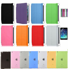 Magnetic Smart Cover Skin+Hard Back Case Stand for Apple iPad Air ,2/ iPad 2017