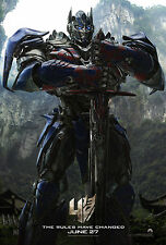 Optimus Prime transformers 4 Giant Poster - A0 A1 A2 A3 A4 Sizes