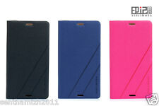 SONY XPERIA Z3 MINI LEATHER FLIP COVER | METAL COATED PVC CASE | YINJIMOSA BRAND