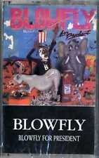 For President [PA] by Blowfly Cassette (Brand New, Factory Sealed)