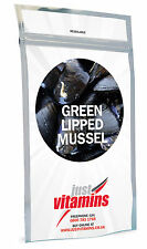 Just Vitamins Green Lipped Mussel Extract 500mg Capsules