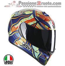 Casco agv k3 sv Valentino Rossi Five Continents Bmw F650 F700 F800 R Gs Hp2