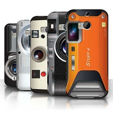 STUFF4 Phone Case/Back Cover for HTC One/1 M8 /Camera