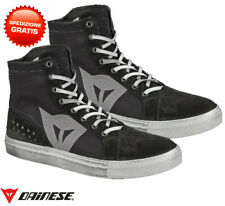 Scarpe Dainese Street Biker wp nero antracite black moto shoes waterproof