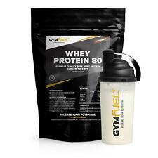 GymFuel™ Whey Protein Concentrate 80% Flavoured Powder 908g | FREE UK DELIVERY