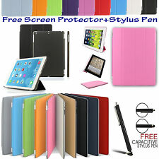 Smart Stand Magnetic Leather Case cover For Apple iPad 2,3,4 Air 1,2 Mini1,2,3,4