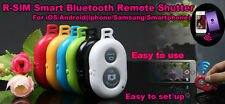 Wireless Bluetooth Camera Remote Control Self-timer Shutter for IOS Samsung HTC