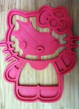Hello Kitty Cookie Cutter - Choice of Sizes - 3D Printed Plastic