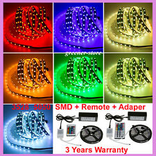 IP65 5M 10M15M 3528 5050 SMD 300LEDs Flexible LED Strip Lights Bande Ruban RGB
