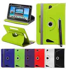 """Universal PU Leather 360° Stand Case Cover For 7"""" 7 Inch Tab Android Tablet PC"""
