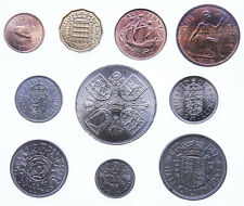ELIZABETH II COINS : Year Sets 1953 to 1967 : FREE UK POST