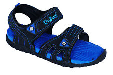 Unique Womens Black,R.Blue Sports Casual Sandals / Floaters - Cod Available