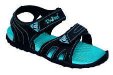 Unique Womens Black,Sea Green Sports Casual Sandals / Floaters - Cod Available