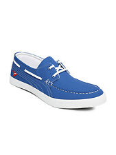 Puma Men Blue Yacht Cvs Boat Canvas Sneakers Casual Shoes @ Free Shipping