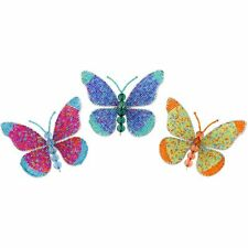 Beadworx Grass Roots Creations Small Beaded Butterflies Butterfly Home Yard