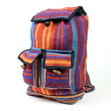 GREAT NEW SMALL HIPPIE DREADLOCK TRIBE BACKPACK RUCKSACK BOHO FESTIVAL DUFFLEBAG